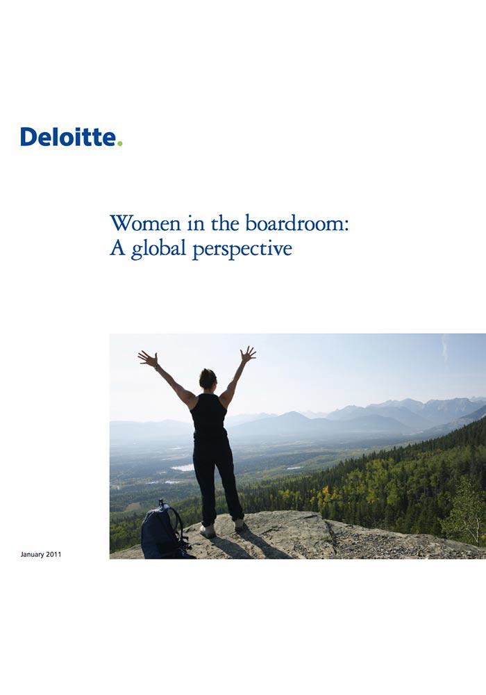DELOITTE: WOMEN IN THE BOARDROOM: A GLOBAL PERSPECTIVE (JAN 2011)