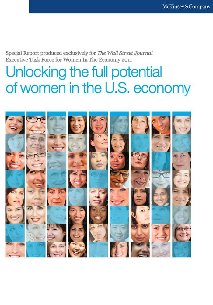 MCKINSEY: UNLOCKING THE FULL POTENTIAL OF WOMEN IN THE US ECONOMY
