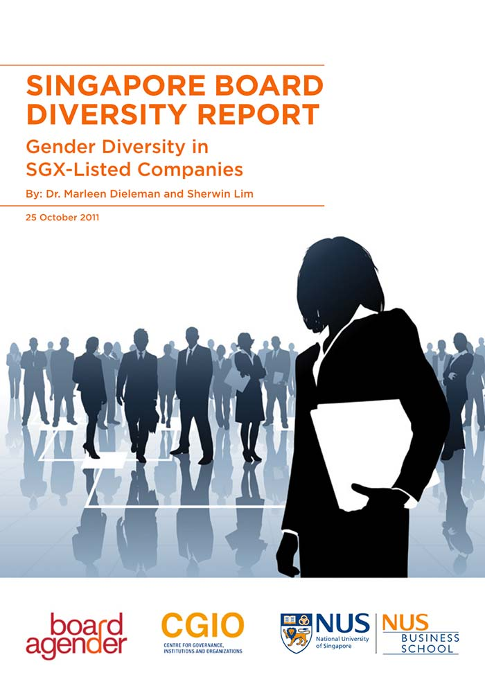 LAUNCH OF SINGAPORE BOARD DIVERSITY REPORT: GENDER DIVERSITY IN SGX-LISTED COMPANIES