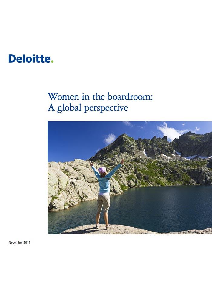DELOITTE: WOMEN IN THE BOARDROOM: A GLOBAL PERSPECTIVE (NOV 2011)