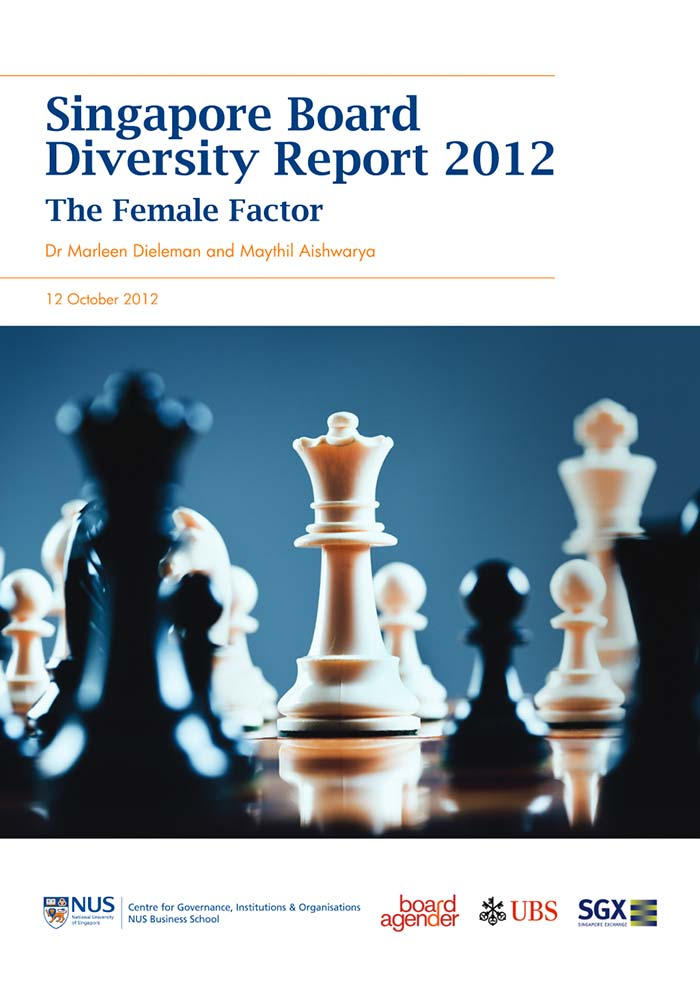 SECOND ANNUAL SINGAPORE BOARD DIVERSITY REPORT 2012: THE FEMALE FACTOR