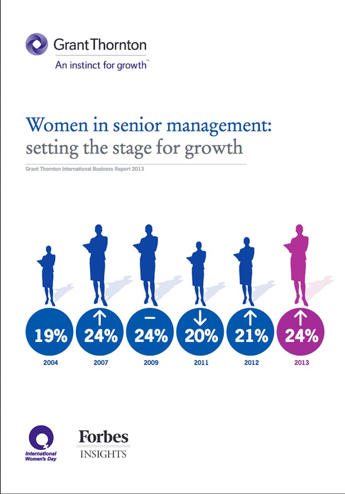 GRANT THORNTON INTERNATIONAL BUSINESS REPORT 2013: WOMEN IN SENIOR MANAGEMENT: SETTING THE STAGE FOR GROWTH