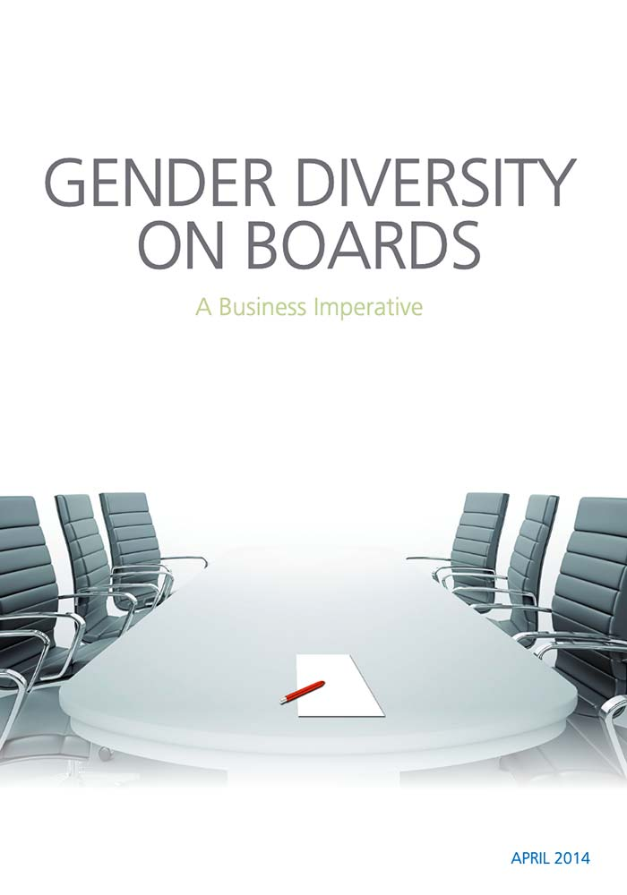 GENDER DIVERSITY ON BOARDS: A BUSINESS IMPERATIVE