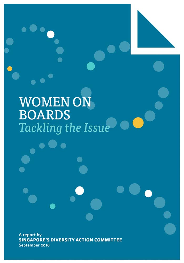 DAC – REPORT ON WOMEN'S REPRESENTATION ON SGX-LISTED COMPANIES' BOARDS AS AT END JUNE 2016