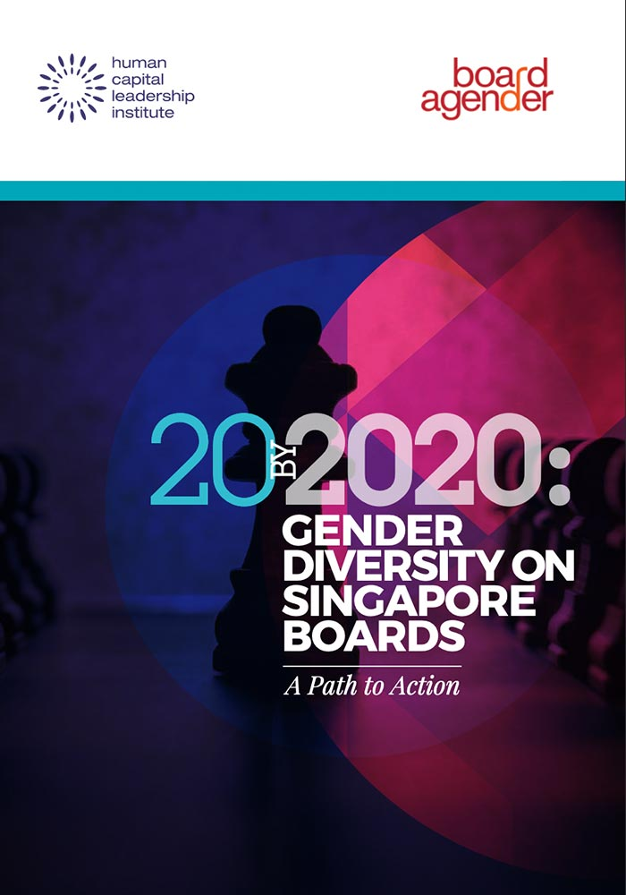 20 by 2020 : Gender Diversity on Singapore Boards – A Path to Action
