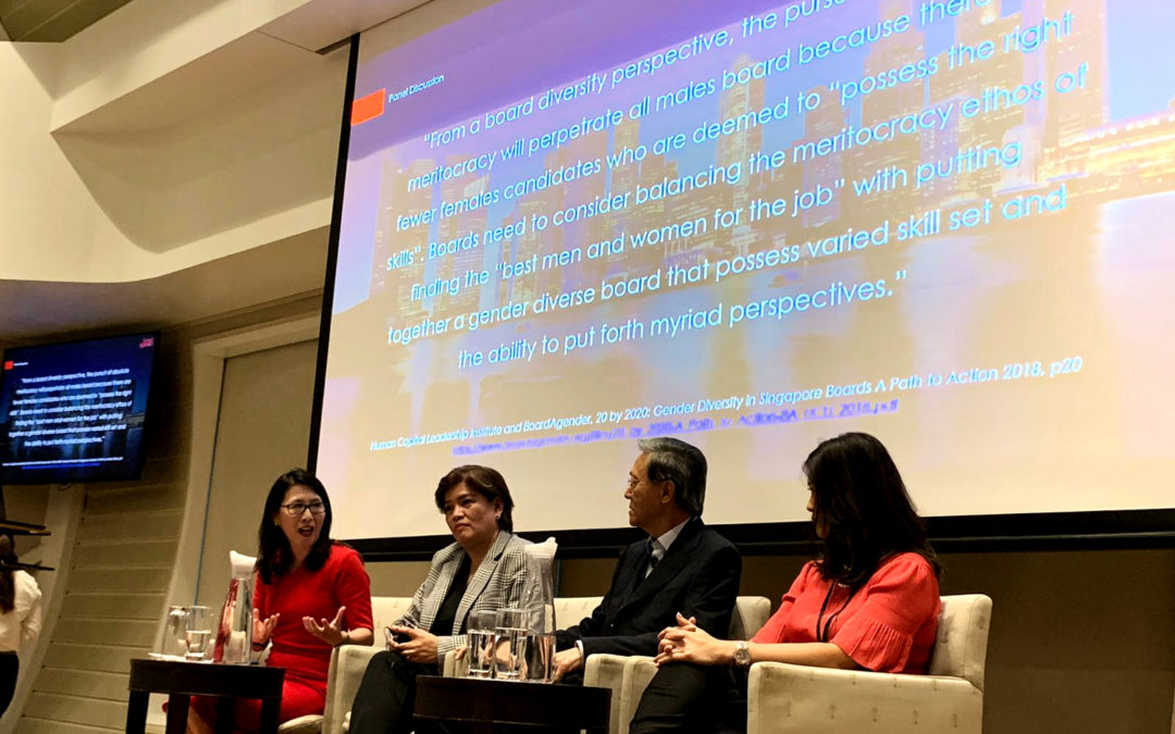 #BlueprintforAction – Increasing the pipeline of female leaders in Singapore